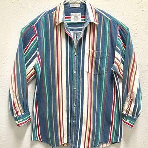 Vintage John Ashford 90s  Button Front Shirt